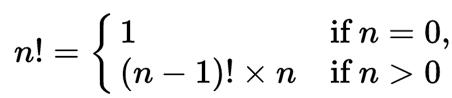 JavaScript Recursive Function Factorial